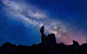 Picture the sky, stars, night, the milky way, Milky Way