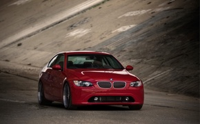 Wallpaper road, cars, the tunnel, bmw, 3 series machien