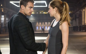 Picture Fantasy, Theo James, Theo James, Shailene Woodley, Divergent, Divergent, Shailene Woodley