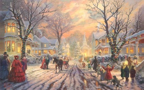 Picture Christmas, New year, Christmas, Mood, The festive atmosphere