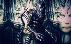 Picture background, toy, Stranger, figurine, Alien, thing