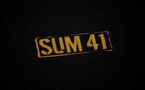 Picture music, sum41, punk-rock