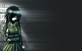 Picture girl, school uniform, WataMote, They will meet the ga mote kris no of spot kangaetemo …