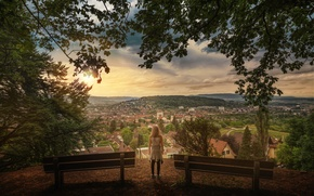 Picture the city, view, treatment, dal, Zurich, Watching over the city
