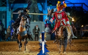 Picture style, speed, horse, knights, tournament