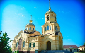 Picture Church, The building, Temple, The monastery