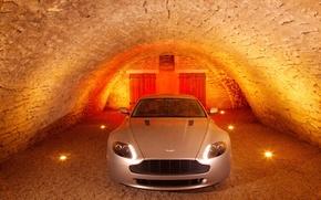 Wallpaper cellar, Aston Martin, V8 Vantage