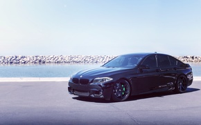 Picture BMW, Black, Tuning, F10, 550, Concept One