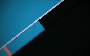 Picture black, line, geometry, design, color, material, azure-grey