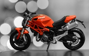 Picture model, toy, motorcycle, toy, model, miniature, Dukati