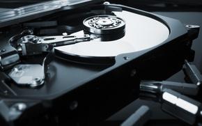 Picture hard disk, data storage