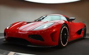 Picture Koenigsegg, red, agera