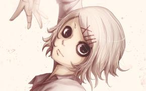 Picture look, boy, art, Anime, Anime, clips, Tokyo Ghoul, Tokyo To, Tokyo Ghoul, Juuzou Suzuya, EmaReoNervosityDraws