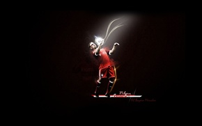 Picture The ball, Player, Franck Ribery