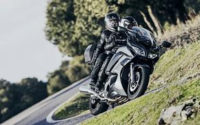 Picture sport, Yamaha, moto, road, tourer, FJR