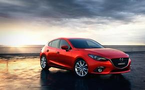 Picture red, Mazda, hatchback, RED, skyactiv