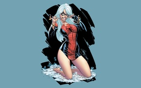 Wallpaper Marvel, Comics, Spider-Man, Black Cat, Felicia Hardy
