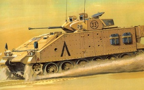 Picture figure, Warrior, Warrior, BMP, modern British infantry fighting vehicle, MCV-80, Warrior