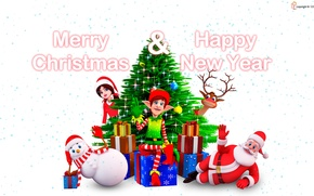 Picture new year, holidays, merry christmas