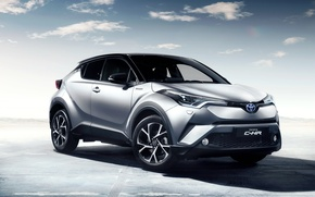 Wallpaper background, Toyota, Toyota, crossover, C-HR
