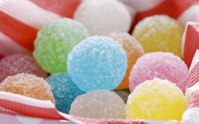 Picture balls, colorful, Sweet