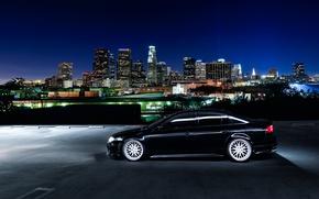 Picture night, tuning, black, profile, honda, Honda, accord, chord, acura, Acura