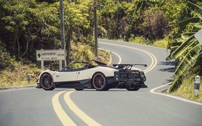 Picture Roadster, Pagani, Zonda, Supercar, Road, Supercar, Pagani, Probe, Cinque
