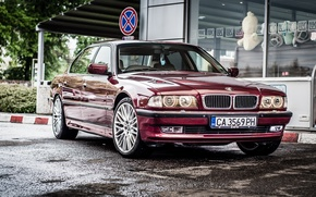 Wallpaper BMW, Boomer, BMW, 750li, E38