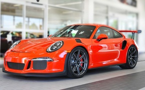 Picture Porsche, One, GT3RS, 991, Piece, on Forgeline, Forged Monoblock GE1 Wheels
