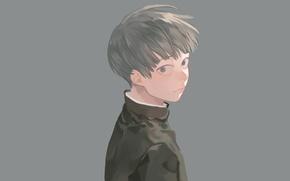 Picture look, background, anime, art, guy, Mob Psycho 100, Kageyama Shigeo, Mob psycho 100