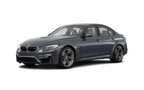 Picture BMW, BMW, white background, Sedan, F80