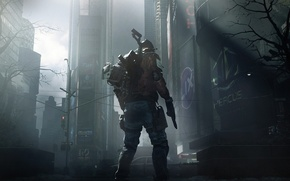 Picture the city, people, soldiers, virus, center, new York, new, Tom Clancy's The Division
