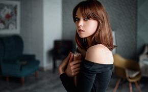 Picture Girl, Look, Book, Model, Olga Pushkina
