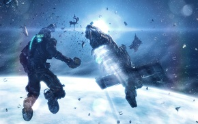 Picture space, space, Isaac Clarke, dead space 3