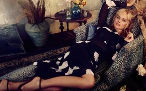Wallpaper photoshoot, Vogue, Margot Robbie
