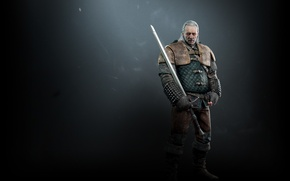 Picture armor, Sword, The Wild Hunt, Art, The Witcher, CD Projekt RED, The Witcher 3: Wild …