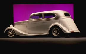 Picture Classic, view, Hot Rod, coupe, Drag