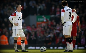 Picture football, England, england, football, manchester united, premier league, wayne rooney, berbatov