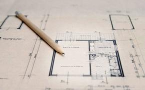 Wallpaper drawing, pencil, plan