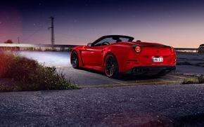 Picture car, Ferrari, red, Novitec Rosso, N-Largo, California T