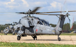 Picture helicopter, Russian, shock, Mi-28N