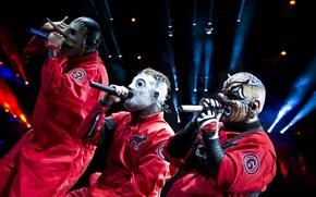 Picture Slipknot, Corey Taylor, Chris Fehn, Shawn Crahan