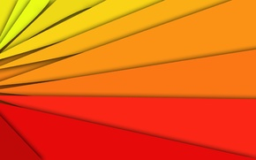 Picture colors, abstract, rainbow, fire, red, yellow, orange