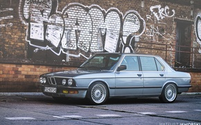 Picture BMW, 5 series, bbs, stance, e28