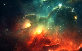 Picture stars, nebula, the universe, Space