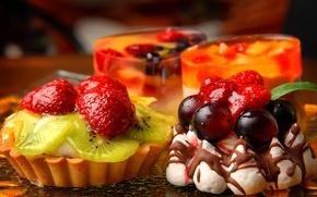 Wallpaper food, cake, dessert, sweet