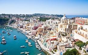 Picture Italy, Campania, Procida, Napoli district