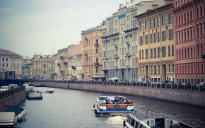 Picture Saint Petersburg, St. Petersburg, Russia, home, Peter, Russia, spb, boats, SPb, building, river