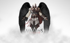 Picture angel wings, killer, assasins creed 2