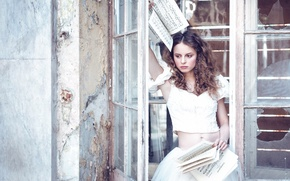 Picture girl, notes, Karina Bratkowska